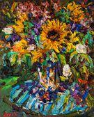 058 | Sonnenblumenstrauss im Garten