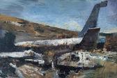 030 | Flugzeugwrack