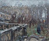 078 | Potsdam, Orangerieschloss im Nebel