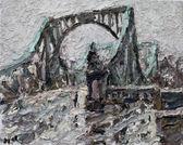 075 | Potsdam, Glienicker Brücke im Regen