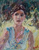 057 | Junge Frau am Teich II