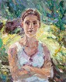 052 | Junge Frau am Teich I