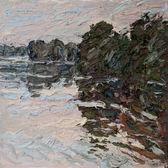 039 | Elbwiesen bei Hochwasser am Abend