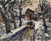 001 | Dornburg im Schnee