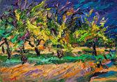 039 | Apfelbäume bei aufziehendem Unwetter