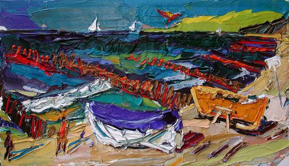 019 | Drachen und Boote