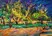 039 Apfelbäume bei aufziehendem Unwetter