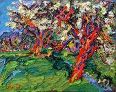 017 Blühende Birnbäume
