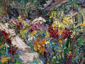 39 | Liebermanns Garten mit Sonnenschirm