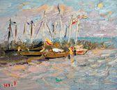 26 | Hafen Althagen mit Mond