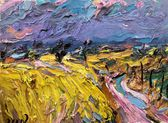 37 | Felder vor Leitzkau, aufziehendes Gewitter