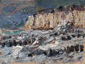 64 | Steilküste bei Wustrow im Sturm