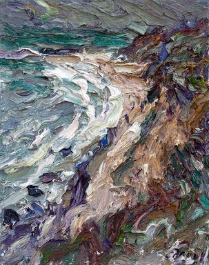 41 | Hohes Ufer bei Sturm II